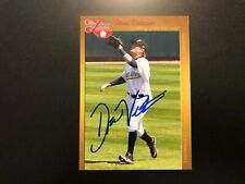 Drew Vettleson In Person Signed 2012 Midwest League Top Prospect Card