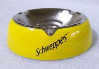 Vintage Advertising Ashtray ✱ SCHWEPPES ✱ Cendrier Aschenbech Enamel 90´s