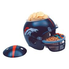 DENVER BRONCOS FULL SIZE SNACK HELMET BRAND NEW FREE SHIPPING