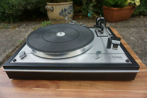 Classical Thorens TD 165 with manual and metall inner platter