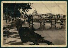 Roma Città Ponte Sant'Angelo Basilica San Pietro FG cartolina VK2305