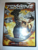 Tekken 2 Kazuya's Revenge DVD martial arts action movie based on video game NEW!