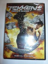 Tekken 2 Kazuya's Revenge DVD martial arts action movie based on video game NEW!