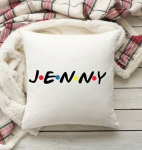 Friends TV Show Personalised Name Cushion Cover. Friends Gift