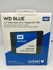 "NEW WD Blue 3D NAND 500GB Internal SSD - SATA III 6Gb/s 2.5"" Solid State Drive"
