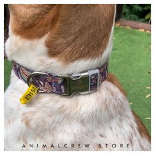 Dog Puppy Collar Neckband Choker Personalized Custom ID Band Animal Unique Pet