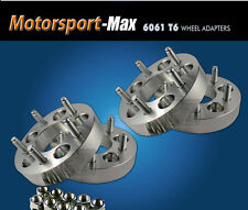 "4 Wheel Adapters 5 Lug 5x139.7 |5x5.5 Jeep CJ Dodge Ram Ford F-150 1.5"" Spacers"
