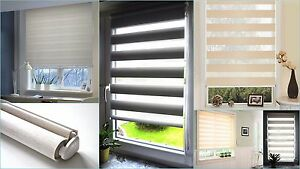 Duo Roller Blind Easy Clamp fix Without Drill Double Chains train Vario Pages