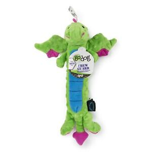 goDog Dragons Skinny Green Large With Chew Guard Blue, Large