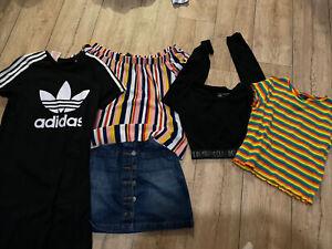 girls clothes bundle 11-12years - Primark, Next, M&co + Adidas - Dress, Skirt….: