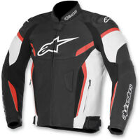 Alpinestars GP Plus R V2 Airflow Leather Jacket Size 56 Black/White/Red 46