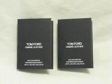 Tom Ford 'Ombre Leather' EDP Perfume Set of 2 Sample Spray Vials Beautiful!