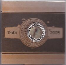 2005 AUSTRALIA SILVER ONE OUNCE PROOF END OF WW II MOVING IMAGE COIN