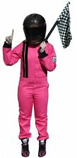 PINK KIDS FIRE SUIT SFI 3.2A/1 RACE SUIT SFI 3-2A/1 ONE PIECE SUIT KIDS 8/10