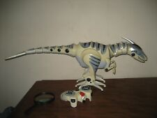 "Large WowWee RoboRaptor Remote Control RC Dinosaur Raptor Trex 32"" Long 2005"