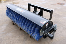"""New JCT 72"""" Severe Duty Angle Broom Skid Steer Attachment"""
