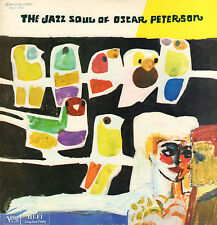 OSCAR PETERSON - THE JAZZ SOUL OF (1976 JAZZ VINYL LP REISSUE JAPAN)