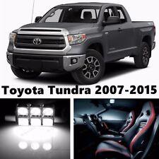 16pcs LED Xenon White Light Interior Package Kit for Toyota Tundra 2007-2015