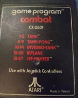 Combat for Atari 2600 FREE SHIPPING 1977 VINTAGE MINT CONDITION