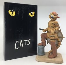 Vintage 1980s Cats Broadway Musical Growltiger Mint Original Figurine Porcelain