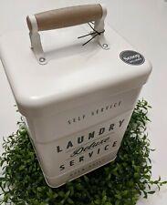 FarmHouse Metal Tin Laundry Soap Container