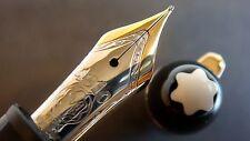 "stylo plume MONTBLANC 146 LeGrand plume""F""or 18K bicolore.Prix = 575€ N°BH116..."