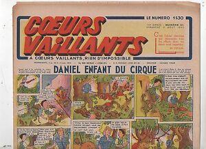 COEURS VAILLANTS 1942 n°31. Hergé. Tintin Le crabe aux Pinces d'Or.