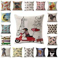 Dachshund Dog Cushion Covers Keep Calm and Hug A Dachshund Pillow Covers Bedroom