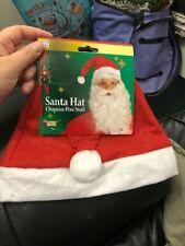 Adult Red Santa Hat New!!!