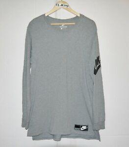 2017 Nike Sportswear NSW Long Sleeve Shirt 834650-091 sz L USED
