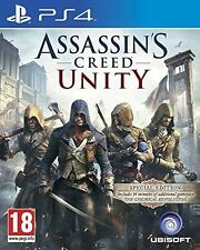 Jeux vidéo anglais Assassin's Creed pour Sony PlayStation 4