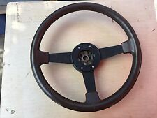 OEM 1982-1989 Pontiac Firebird Trans Am Steering Wheel  GTA Fiero Brown