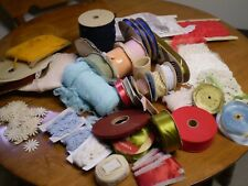 Clearance Lots Ribbons Crafts and Fabric Take Look Make Offer / Ruban couture