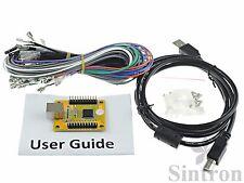 PC PS3 Arcade Game USB Controller Interface Encoder for 2 Joysticks & 27 Buttons