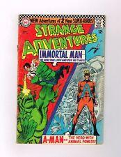 STRANGE ADVENTURES #190 Silver Age DC! 1st ANIMAL MAN in costume!