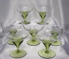 Set 6 Rosenthal Studio Linie Papyrus Green Low Sherbet Or Footed Dessert Bowl