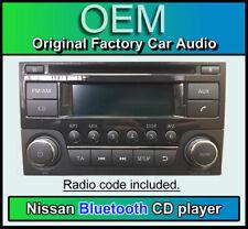 Nissan Juke Bluetooth stereo, Nissan 281851KA2A, AGC-0071RF, with radio code