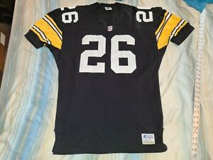 ROD WOODSON #26 PITTSBURGH STEELERS HOME STARTER AUTHENTIC FOOTBALL JERSEY sz 46