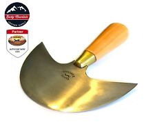 New Vergez Blanchard Head Round Knife 125mm (leather knife tool)
