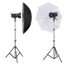 METTLE Studioset BLACKLINE 200 Fotostudio Studioblitz-Set Studioblitzleuchte