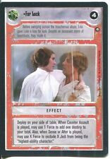 Star Wars CCG Jedi Pack  For Luck
