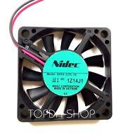 NIDEC D05X-12TL Super quiet CPU cooling fan DC12V 0.06A 50mm×50mm×10mm 2pin