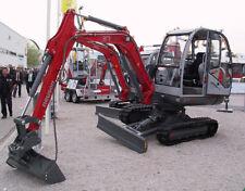 WACKER NEUSON 3703 Track Excavator Service , Operator's  & Parts Manual CD