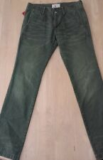 NWT PRPS GOODS & CO. Color Green Distressed  Chino Pants size 30 Slim