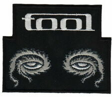"""TOOL Eyes Rock Metal Embroidered Iron On Patch 3.5""""/9cm"""