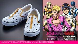 JOJO Golden Wind × VANS Limited Bruno Bucciarati Collaboration Sneaker US6 USED