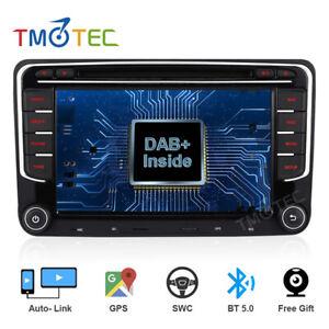 DAB+ Radio DVD GPS Stereo SAT NAV for VW Passat Golf 5 6 Touran Caddy Tiguan T5
