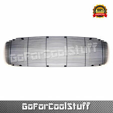 For 2006 2007 2008 Dodge Ram 1Pc Upper Cover All Black Billet Grille Insert