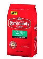 Community Coffee Café Special Decaf Medium Dark Roast Premium Ground 32 Oz Bag