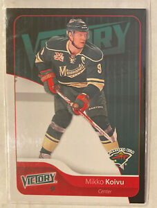 2011-12 Upper Deck Victory Black #92 Mikko Koivu